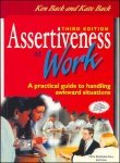 Assertiveness at Work, Ken Back and Kate Back, 007084576X