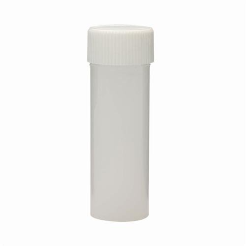 Wheaton Science Products 986645 HDPE Liquid Scintillation Vial with Linerless Polypropylene Screw Cap, 6 mL Capacity (Pack of 2000)