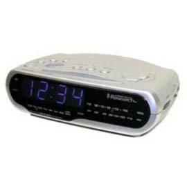 Emerson SmartSet alarma dual reloj & # 45; cks1851: Amazon.es: Hogar