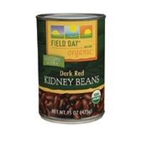 Field Day Beans, Og, Kidney, 15-Ounce (Pack of 12)