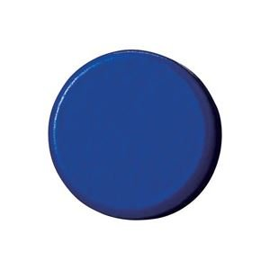 生活日用品 (業務用100セット) 強力カラーマグネット 塗装18mm 青 B272J-B 10個 ×100セット B074K273CZ