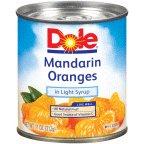 Dole Mandarin Oranges 11 OZ (Pack of 12)