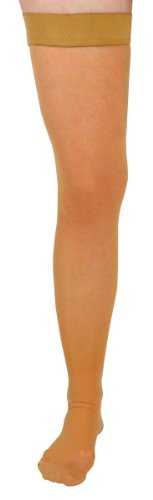 medline MDS1706ATH Thigh-High Compression Hosiery, 15-20m...