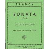 Franck Cesar Sonata In A Major Violin and Piano by Zino Francescatti Robert Casadesus International