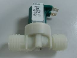 Comes With 1//2 BSP Male Threads 3W Single 180 Degree Solenoid Valve 12v DC
