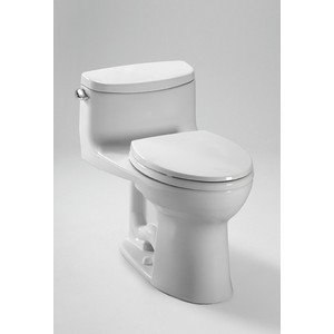 Toto MS634114CEFG#01 Supreme-2 One-Piece High-Efficiency Toi