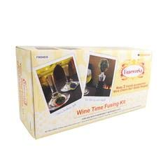 - Fuseworks Wine Time Kit, Includes Bottle Stopper and Drink Charms