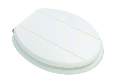 wooden white toilet seat.  Croydex Premium Wood Toilet Seat White Amazon co uk Kitchen Home