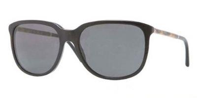 Burberry Sunglasses BE 4139 BLACK 3001/87 BE4139