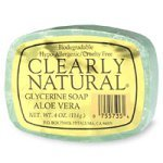 (Clearly Natural Clearly Nat Soap Aloe Vera 4 Oz, 6 pack)