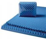 Convoluted Foam Mattress Pads 4'' King 74x76x4, 1EA