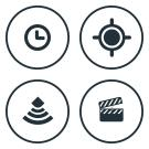 Actions can be Time based, GeoSense focused, Sensor triggered, or On Demand