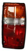 TYC 11-1347-00 Toyota Passenger Side Replacement Tail Light - Tail 4runner Toyota 84 1984