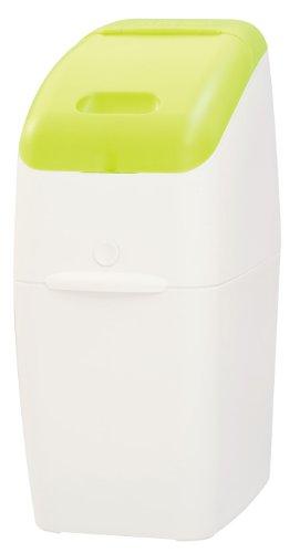 アップリカ 紙おむつ処理ポット におわなくてポイ 消臭タイプ 本体 グリーン 09121 「消臭」・「抗菌」・「防臭」可