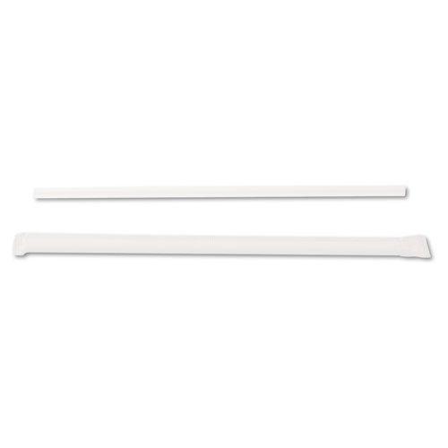 (Dixie : Wrapped Jumbo Straws, 7-3/4