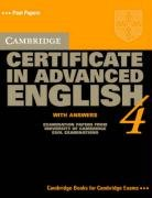 Cambridge Certificate in Advanced English 4: Student's Book with answers