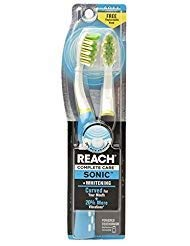 Reach Complete Care Sonic Curve Plus Whitening Battery Powered Brush