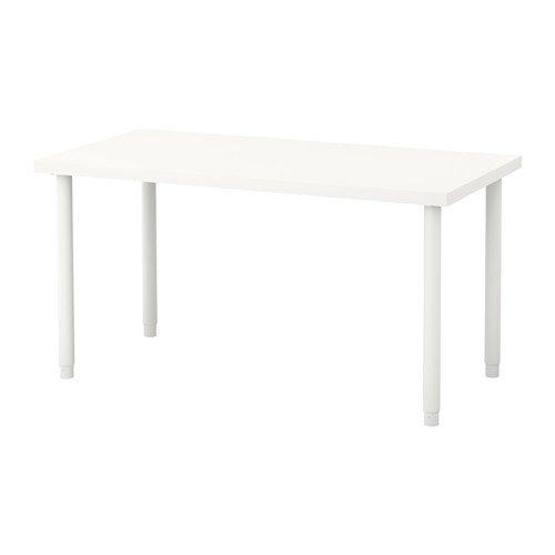 ZigZag Trading Ltd IKEA LINNMON/Olov – Mesa Blanco: Amazon.es: Hogar