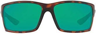 Costa Del Mar Men's Reefton Rectangular Sunglasses
