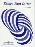 Things That Differ, Cornelius R. Stam, 1893874257
