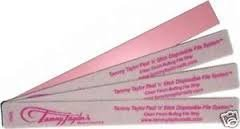 Tammy Taylor Peel n' Stick Clean Finish Buffing File Strip - 10 pk by Tammy Taylor