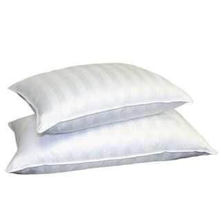 Continental Bedding SP100-Q.2 Set of 2-Superior 100% Down 700 Fill Power Hungarian White Goose Down Pillow. Queen Size,