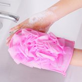 Exhibitor - 445 Body Exfoliating Sponge Bath Massage Shower Glove Scrubber - Exhibitioner - 1PCs
