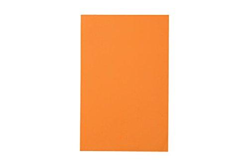 RiteCo 15207 Posterboard/Railroad Board, 4-Ply, 22'' x 28'', Orange (Pack of 25)