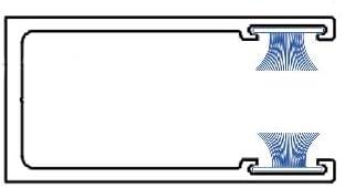 1, 4,8 x 5mm B/ürstendichtung Meterware mit Nut von 5mm bis 25mm f/ür Fliegengitter Dichtung Fenster T/üren Insektenschutz Rolladen Roll/äden mit Nut