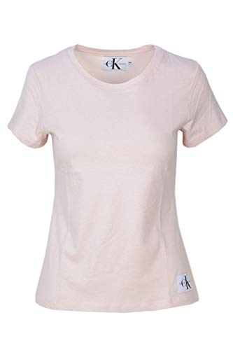 Rose T Poudre Core Shirt Calvin Femme Slim Jeans J20J207841 Klein q4AnxFzwP
