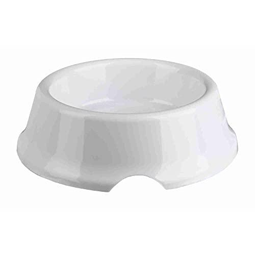 TRIXIE Comedero Plástico Ligero, 0.5 l, ø14 cm, Perro