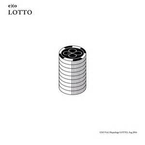 EXO KPOP 3rd Repackage Vol. 3 LOTTO Album [KOREAN Version] CD + Photobook + Photocard