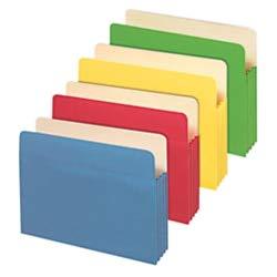 (Office Depot Brand File Cabinet Pockets, Letter Size, 3 1/2