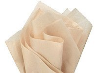 Brand New Parchment Off-White Ivory Bulk Tissue Paper 15 Inch x 20 Inch - 100 Sheets