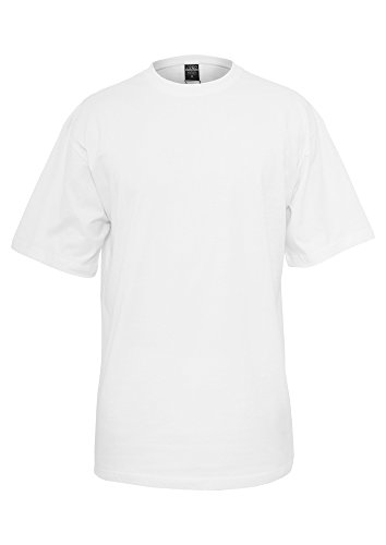 TB006 'Urban Classics' T-Shirt Tall Tee M-6XL (Various Colours), Größe:M;Farbe:white