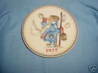 1972 Goebel Hummel Annual Collector Plate