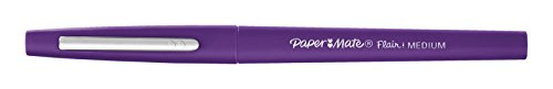 Paper Mate Flair Felt Tip Pens, Medium Point (0.7mm), Purple, 12 Count by Paper Mate (Image #1)