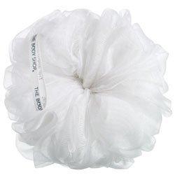 The Body Shop Ultra Fine Bath Lily-Exfoliating Scrub-Bath Pouf (White)