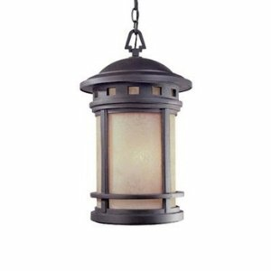 Designers Fountain ES2394-AM-ORB Sedona 11 Inch Hanging Lantern by Designers Fountain