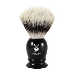 Handmade Synthetic Bristle Black Shave Brush (39K256) brush by Muhle
