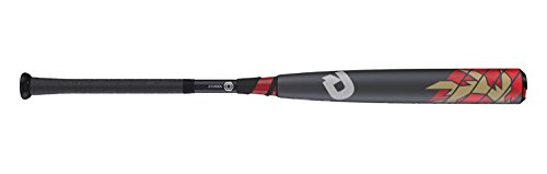 Wilson DeMarini Voodoo BBCOR Baseball Bat, 33'/30 oz, Gunmetal/Red/Gold