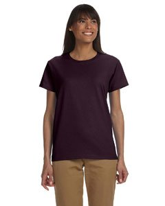 Gildan Womens 6.1 oz. Ultra Cotton T-Shirt G200L -DARK CHOCOLA XL