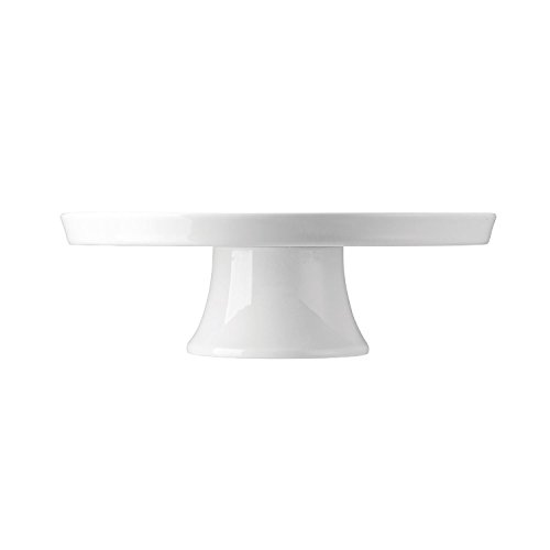 (Thomas Loft Pie Stand with Foot, Plate, Porcelain, White, Dishwasher Safe, Ø 27 cm, 12813 )