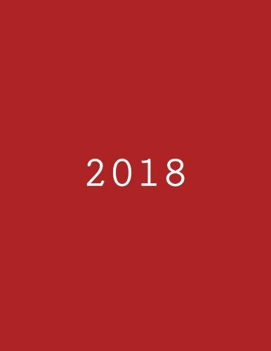 2018: Tagebuch Kalender (German Edition)