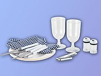 Xcase-Thermo-Picknick-Rucksack-mit-Khlfach-bestckt-fr-2-Personen