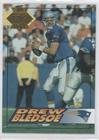 1994 Collectors Edge (Drew Bledsoe (Football Card) 1994 Collector's Edge - [Base] - 1st Day Gold #127)
