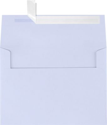 A7 Invitation Envelopes w/Peel and Press (5 1/4 x 7 1/4) - Lilac Purple (500 Qty) | Perfect for Invitations, Announcements, Sending Cards, 5x7 Photos | Printable | 80 pound Paper | SH4280-05-500