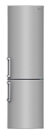 LG GBB 530 PZCFB Kühl-Gefrier-Kombination (A+++, 201 cm Höhe, Kühlen: 252 L, Gefrieren: 91 L, Edelstahl, Stahloptik, No Frost, Schnellgefrieren, Smart Diagnosis)