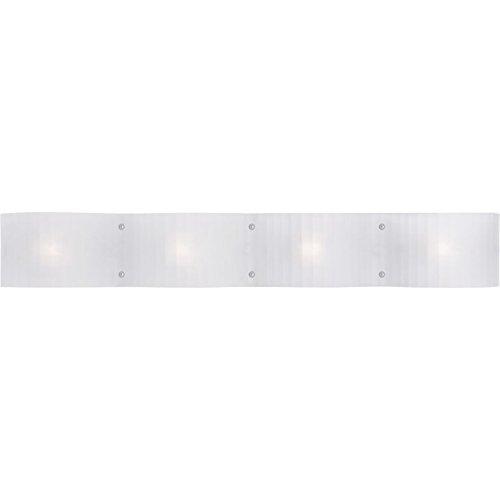 - Livex Lighting 1434-05 Luna 4-Light Bath Light, Chrome