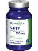 Physiologics - 5-HTP 100 mg complexes 120 caps [Santé et beauté]